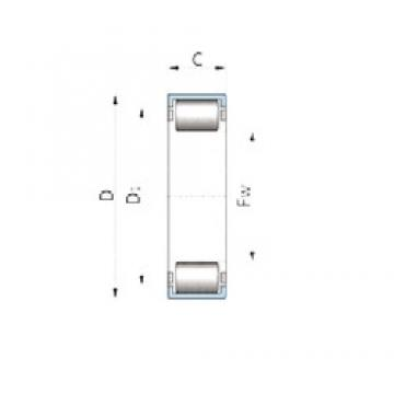 INA 726002900 cylindrical roller bearings
